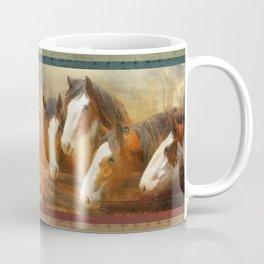 Faces Of Four Coffee Mug