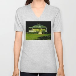 Wynnum Shire Clerk's Cottage Unisex V-Neck