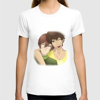 yaoi T-shirts featuring Don't tell them~ by Manos-Art
