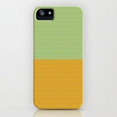 Pebbles 1 Pea/Mustard Slim Case iPhone (5, 5s)