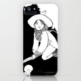 Inktober2016: Vagabond witch iPhone Case