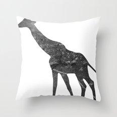 Giraffe (The Living Things Series) Throw Pillow