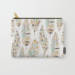Boho Festival Feather Carry-All Pouch
