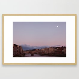 Florence, Arno. Framed Art Print