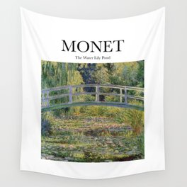 Monet - The Water Lily Pond Wall Tapestry