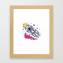 Catach a Shooting Star Framed Art Print