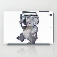 koala iPad Cases featuring koala  by Laura Graves