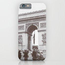 SALE, PARIS Italy Photography, Set of 4 Prints, Travel Decor, Black and White, Colosseum, ART iPhone Case