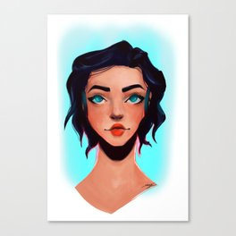 Yonder Canvas Print