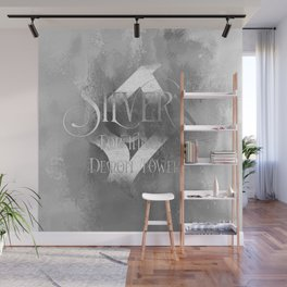 SILVER for the Demon Towers. Shadowhunter Children's Rhyme. Wall Mural