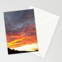 Sun Falling Stationery Cards