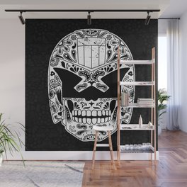 Day of the Dredd - Black Wall Mural