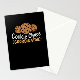 girl scout gift cookie chaos Coordinator Stationery Cards