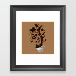 Need more Coffee Framed Art Print