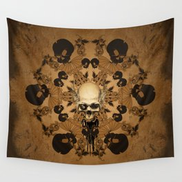 Awesome skull Wall Tapestry