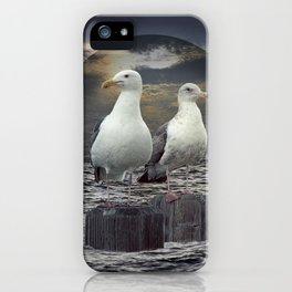 Gertrude and Heathcliff iPhone Case