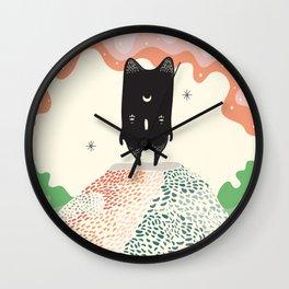 Moon Master Wall Clock
