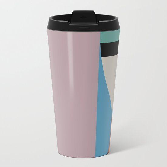Absolute Face Metal Travel Mug