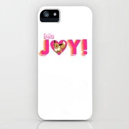 Fan JOY: pokeee-vee iPhone Case