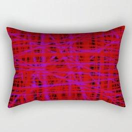 path of destortion Rectangular Pillow