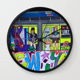 Super Hero Subway Wall Clock