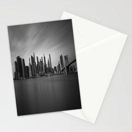 Manhattan Skyline Monochrome Stationery Cards