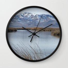 Bear River Wall Clock