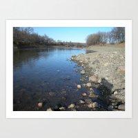 Fresh Water Art Print