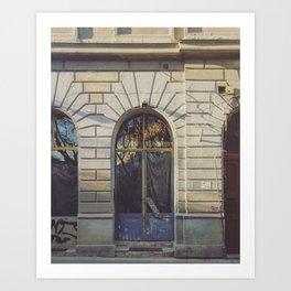 Budapest Building Front Art Print