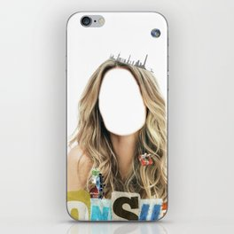 Miss Consume iPhone Skin