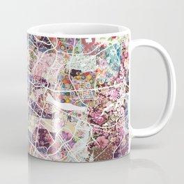 Poznan map Coffee Mug