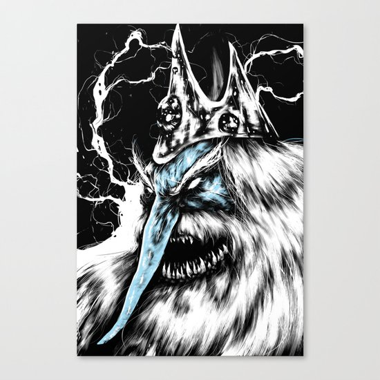 Adventure Time - Ice King Canvas Print