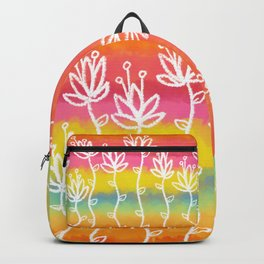 Flower Sunrise Backpack