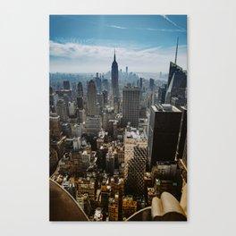 NYC skyline views Canvas Print