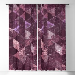 Abstract Geometric Background #24 Blackout Curtain
