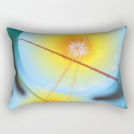 Creation - To begin and To End Rectangular Pillow