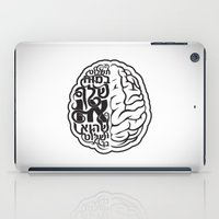 brain iPad Cases featuring Brain by RomaM