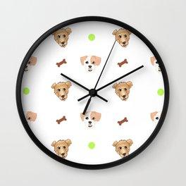 Wookiee & Padme Wall Clock