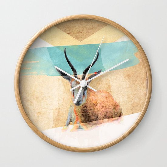 The Mirage Wall Clock