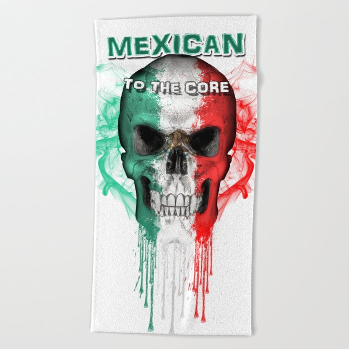To The Core Collection Mexico Beach Towel