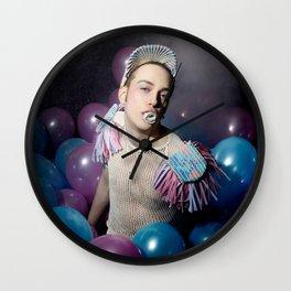 Puer Aeternus' birthday Wall Clock