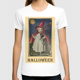 Halloween vintage art T-shirt