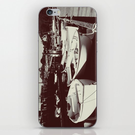 Rescue Boats iPhone & iPod Skin