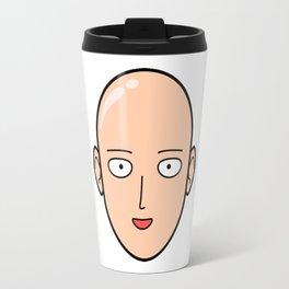 saitama face Travel Mug