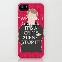 A Study in Pink - John Watson iPhone Case