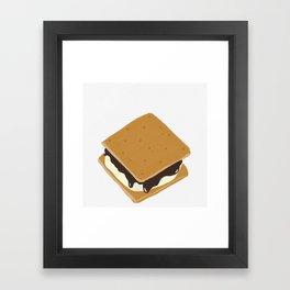 S'more Framed Art Print