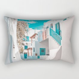 Mykonos Greece Rectangular Pillow