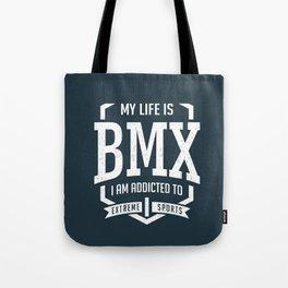 BMX Racing Tote Bag