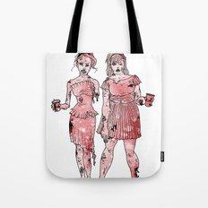 Zombie Bridesmaids Tote Bag