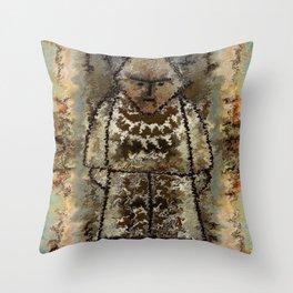 Figurine by rafi talby Throw Pillow